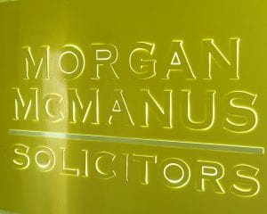 Morgan-McManus-Sign